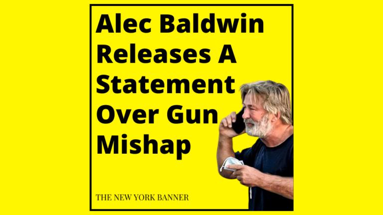 Alec Baldwin Releases A Statement Over Gun Mishap