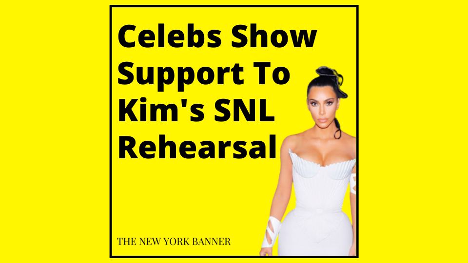 Celebs Show Support To Kim's SNL Rehearsal