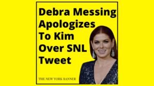 Debra Messing Apologizes To Kim Kardashian Over SNL Hosting Diss