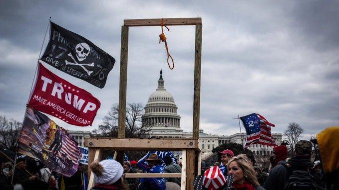 Capitol Riot Hang Pence