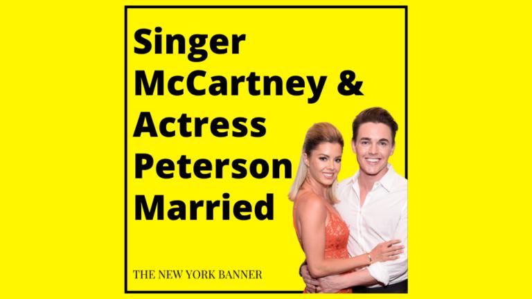 Singer McCartney & Actress Peterson Married