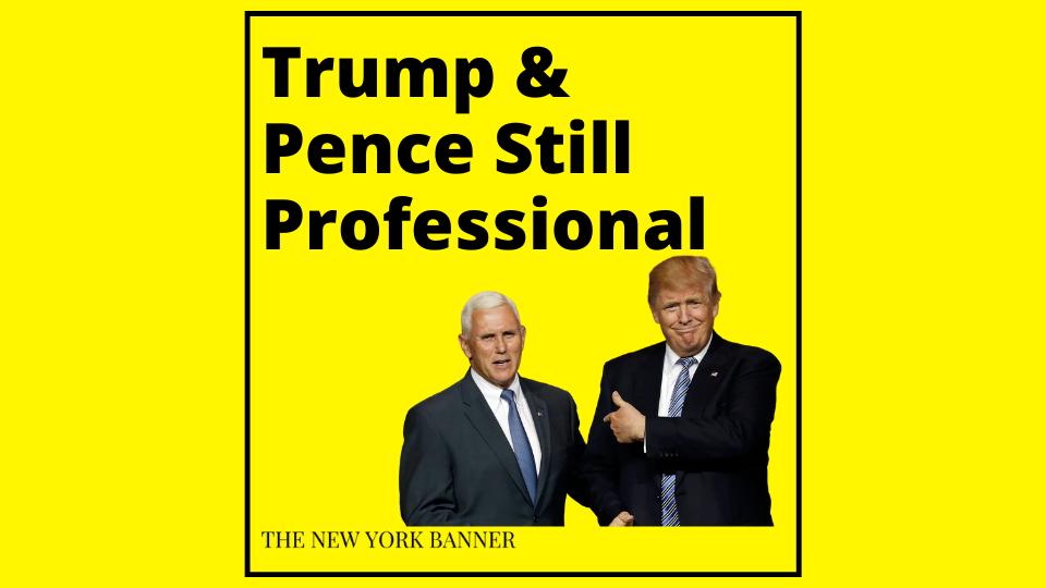 Trump and Pence Still Get Along